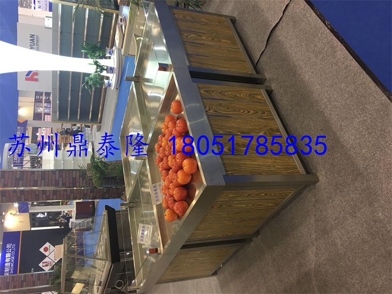 钢木质蔬果平堆